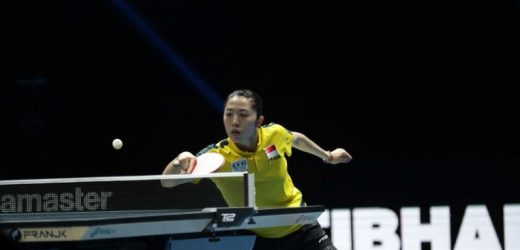 Table tennis: Yu bursts back onto international scene at WTT Contender Doha