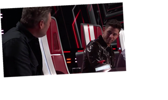 'The Voice': Gean Garcia Makes Blake Shelton Throw the Block!