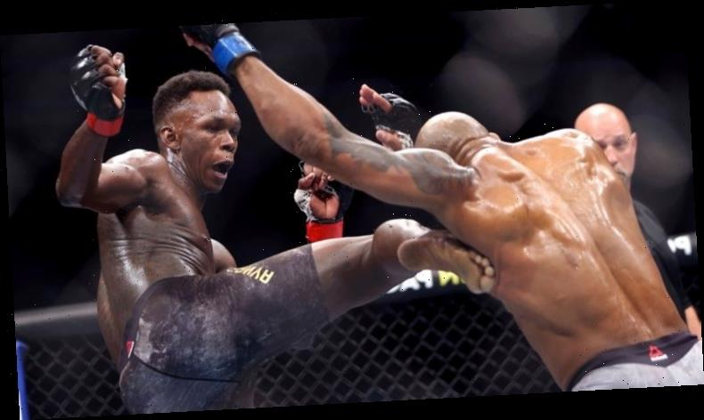 Israel Adesanya looking to overcome weight shortcoming to reign as UFC light-heavyweight champion