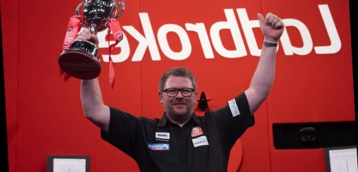 LISTEN: James Wade joins The Darts Show podcast
