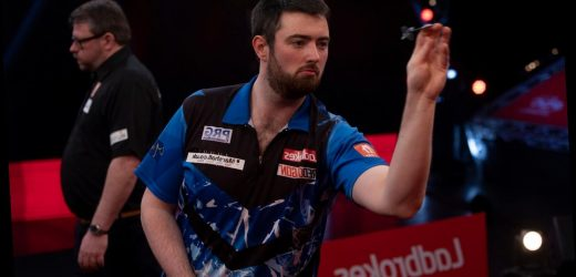 Mark Webster believes Luke Humphries is capable of doing real damage on darts' biggest stages