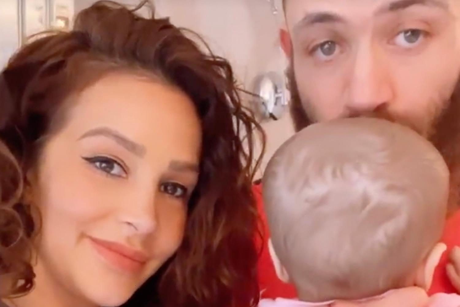 ASHLEY Cain, girlfriend Safiyya and terminally ill daughter Azaylia nominated for a Pride of Britain Award