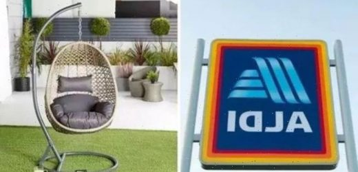 Aldi's sell-out hanging egg chair is back in stores on Sunday – but you must be quick