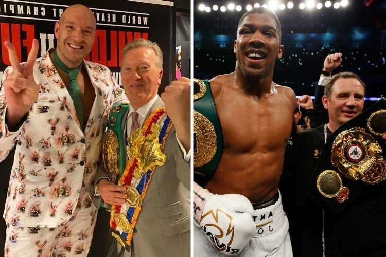 Anthony Joshua vs Tyson Fury set to be pushed back to September with AJ's coach busy at Olympics, fears Frank Warren