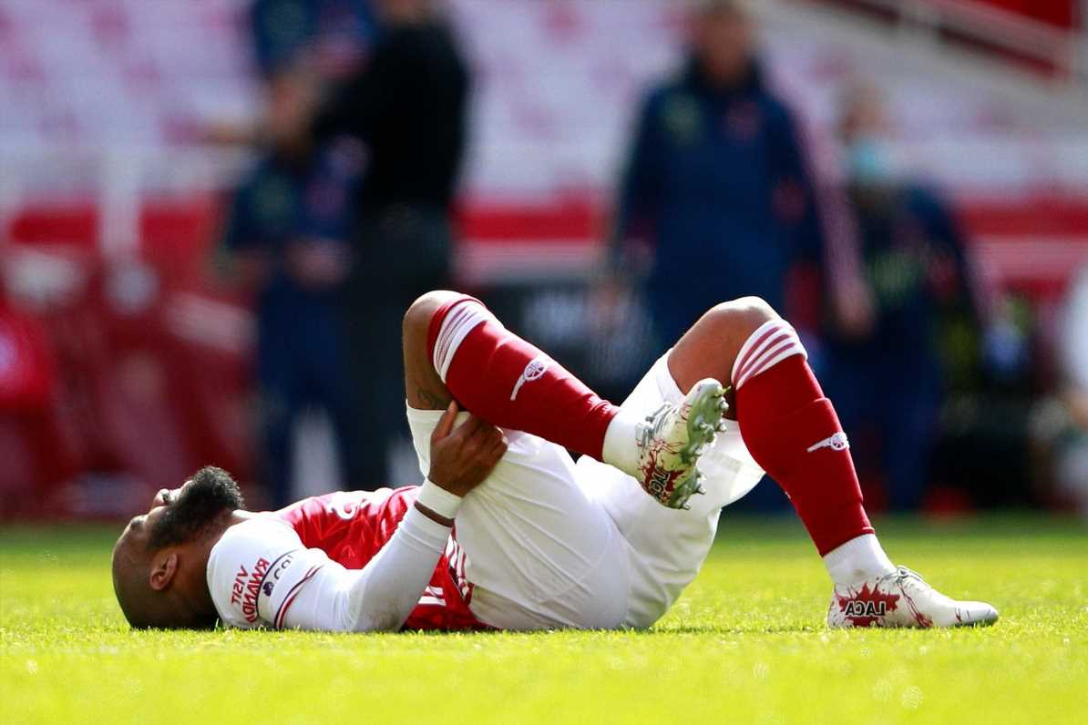 Arsenal star Alex Lacazette gives contract renewal update and insists it's 'not only on my side' after hamstring injury