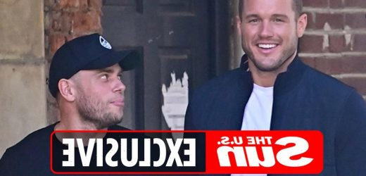 Bachelor Colton Underwood looks smitten with Olympic skier Gus Kenworthy on NYC stroll before coming out as gay