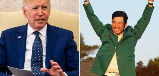 Biden calls Masters champ Hideki Matsuyama 'Japanese boy' in odd compliment