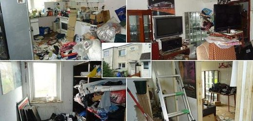 Britain's dirtiest house up for auction for £90,000