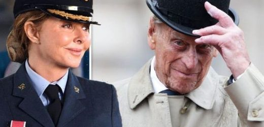 Carol Vorderman pays respects to Prince Philip as she talks 'wonderful sights' at funeral
