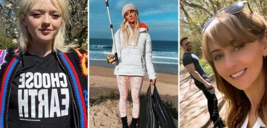 Earth Day 2021: Celebs do their bit as Love Island's Lucie Donlan scrubs beach and AJ Pritchard urges fans to help out