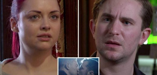 EastEnders' Ben and Callum on the brink of break-up as Whitney tries to wreck their wedding