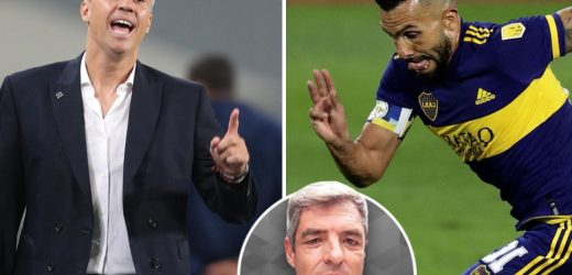 Ex-Man Utd star Tevez's one last stab at Copa Libertadores, while Chelsea pair Poyet and Crespo begin management trail