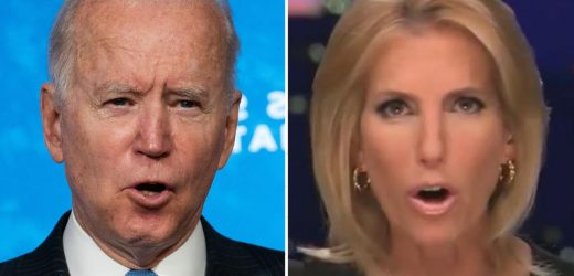 Fox News host Laura Ingraham calls 'powerful forces' behind Biden 'America's most dangerous insurrectionists'