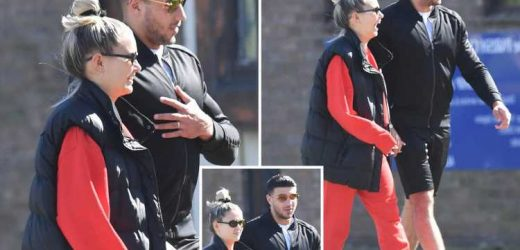 Molly-Mae and Tommy Fury look loved up as they dress down for romantic walk in the sunshine