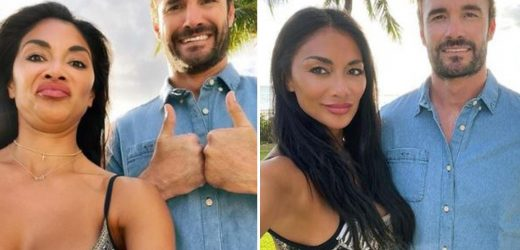 Nicole Scherzinger leaves fans laughing as she poses with double chins in Instagram vs reality snaps