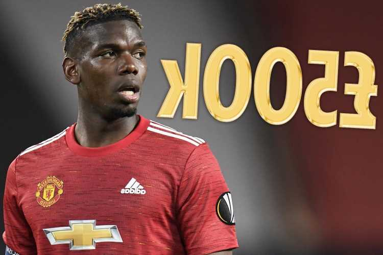 Paul Pogba 'wants £500,000-a-week contract' to stay at Man Utd with Real Madrid, PSG and Juventus waiting in wings