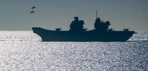 Powerful, new British aircraft carrier to set sail for Asia next month
