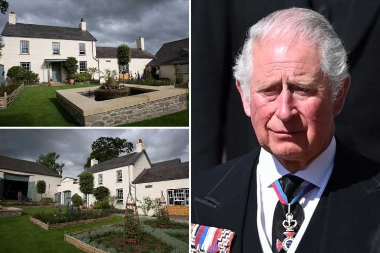 Prince Charles' idyllic £1m Welsh retreat where he is grieving the loss of Prince Philip – which has a wildflower meadow