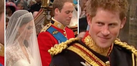 Prince Harry's cheeky remark to William seconds before Duke tied knot to Kate: 'So Harry'