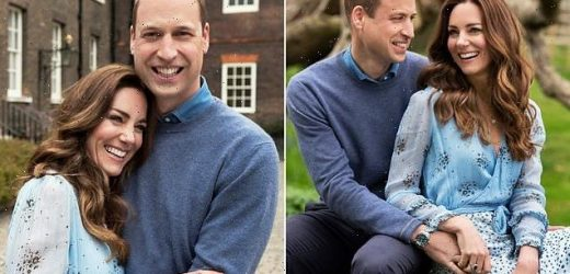 Prince William and Kate Middleton release two new portraits