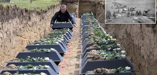 Remains of 120 German soldiers who died at end of WWII laid to rest