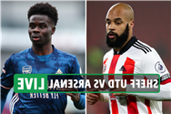 Sheffield Utd vs Arsenal LIVE: Stream FREE, TV channel, team news as Aubameyang OUT of clash with FLU – latest updates