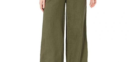These $30 Lightweight Linen Pants Will Keep You Cool on the Hottest Days of Summer