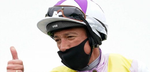 Top jockey Frankie Dettori back from winter in Dubai and hoping to strike gold at Newmarket on Global Giant