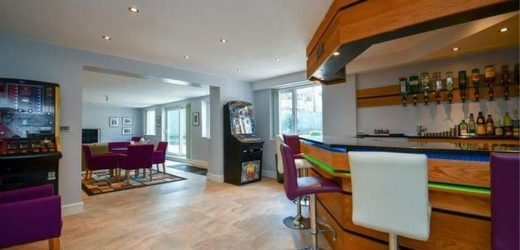Ultimate 'party house' up for sale complete with bar, beer garden & games room