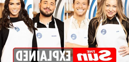 When does Celebrity MasterChef 2021 start on BBC One?