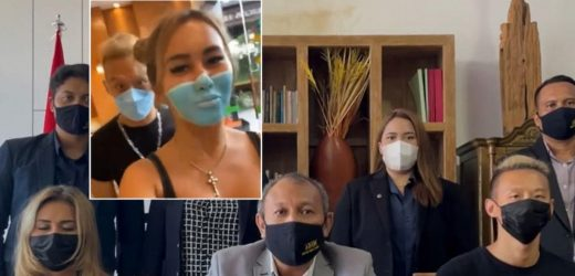 YouTubers to Be Deported From Bali for Painting Fake Mask On