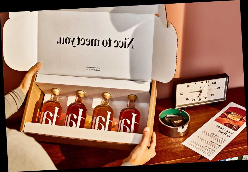 The Haus aperitif sampler is finally in stock after selling out 4 times