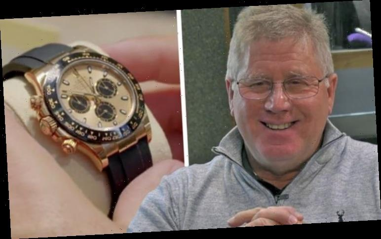 Million Pound Pawn guest makes whopping profit on highly sought after Rolex watch