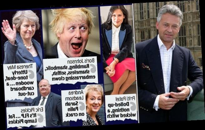 ALAN DUNCAN's wicked diary spills the vitriol on Boris 'the buffoon'