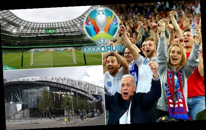 EXCLUSIVE:Euro 2020 host cities ALL ready to allow fans into stadiums