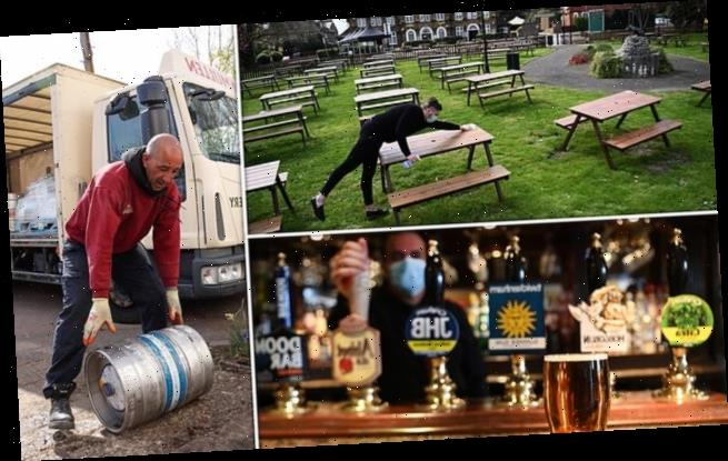 Pubs gear up for al fresco drinking from Monday