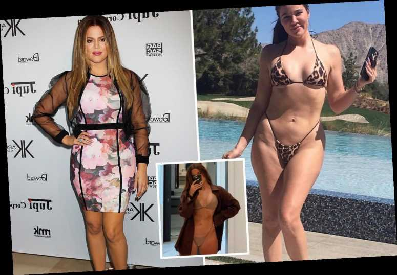 Khloe Kardashian 'fears unedited pic will haunt her for years' and still feels like 'fat sister' despite weight loss