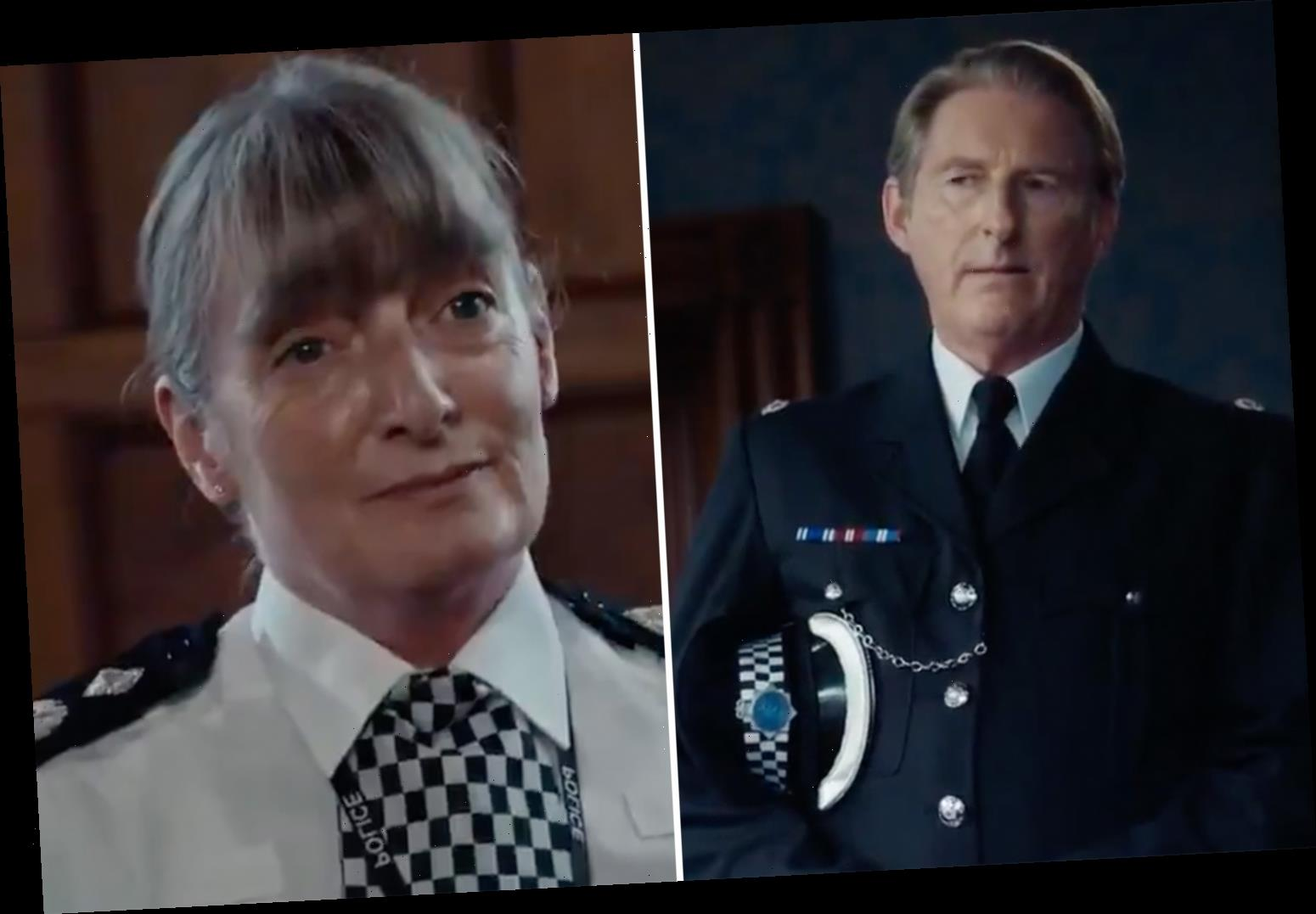 Line of Duty fans go wild as Ted Hastings delivers stinging put-down in new trailer after being told to stop hunting 'H'