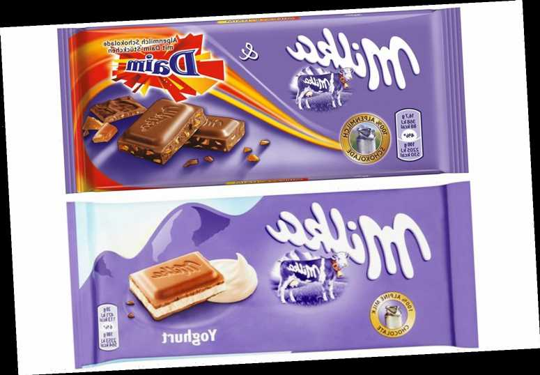 Heron Foods recalls Milka chocolate bars over fears they could trigger allergies