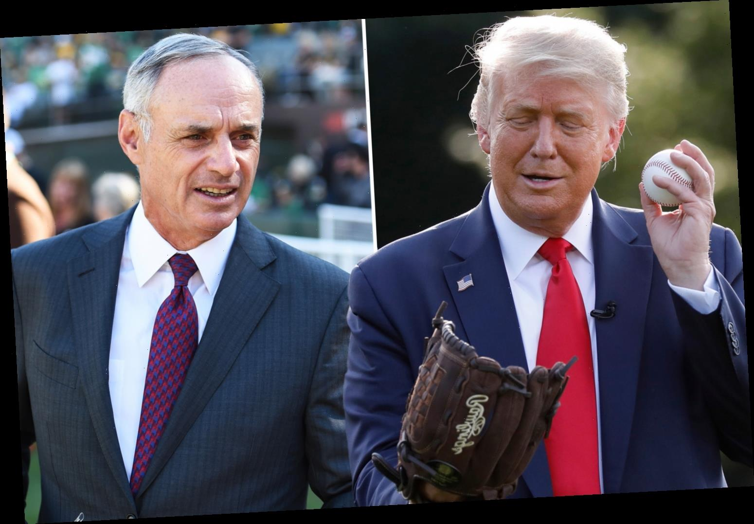 Trump calls for BOYCOTT of 'woke' Major League Baseball after All-Star Game is pulled out of Georgia