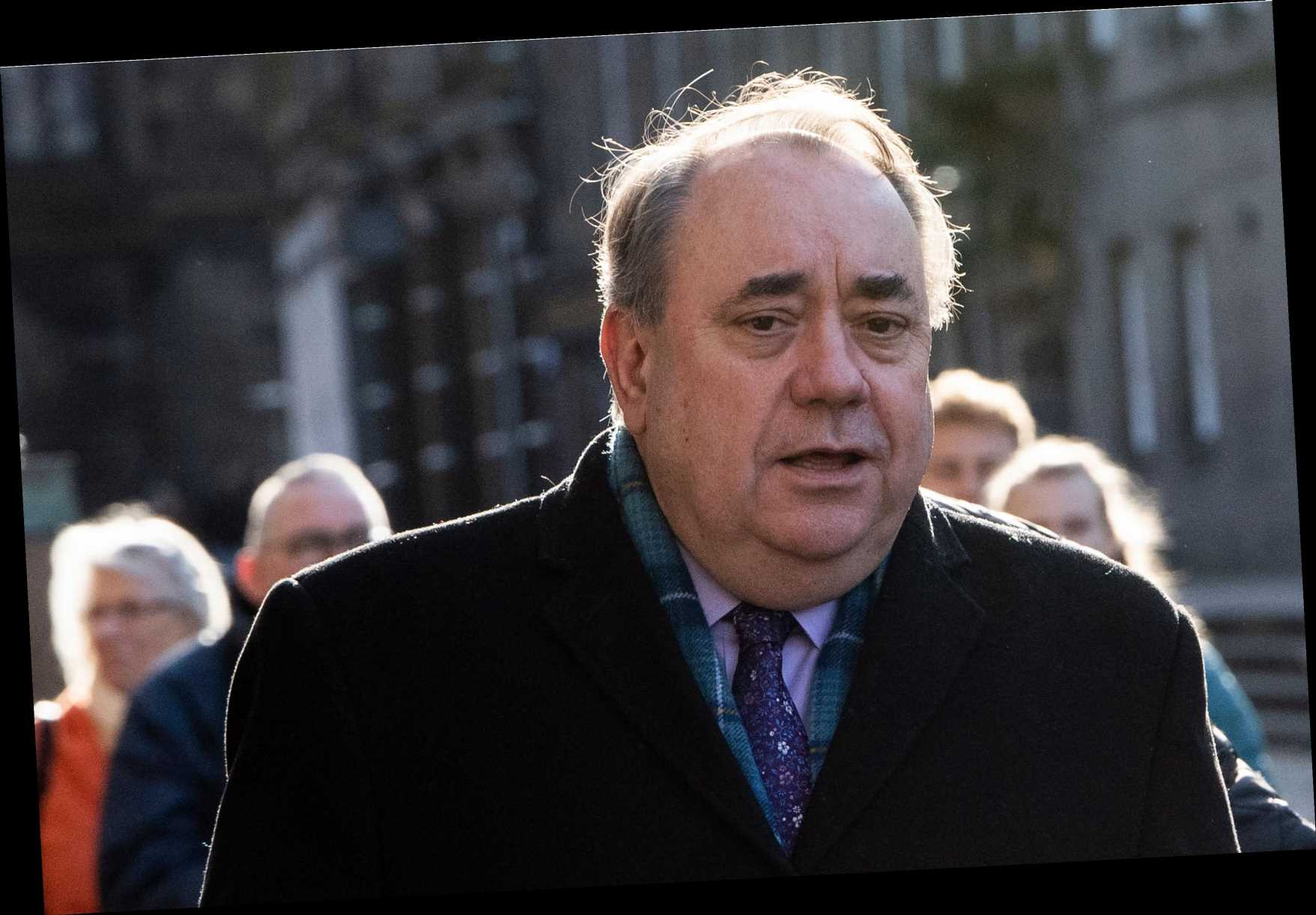 Alex Salmond asked 'do you think it's OK to stroke women's faces?' as Alba Party launch dogged by questions over conduct