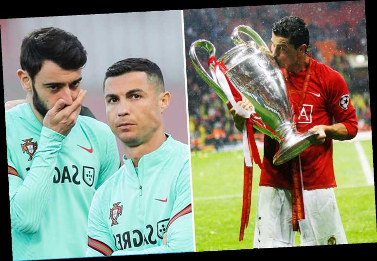 Bruno Fernandes names Cristiano Ronaldo as one of three Manchester United icons he'd love to play with in Twitter Q&A