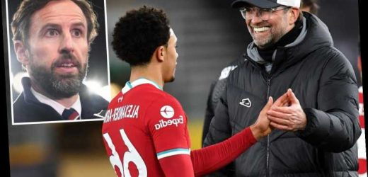 Liverpool boss Klopp slams Southgate for axing Alexander-Arnold from England squad and compares it to dropping Messi