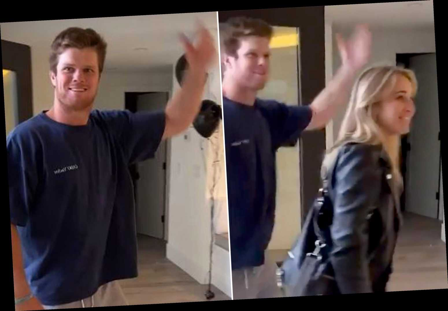 Sam Darnold partied it up after Jets traded him to Panthers