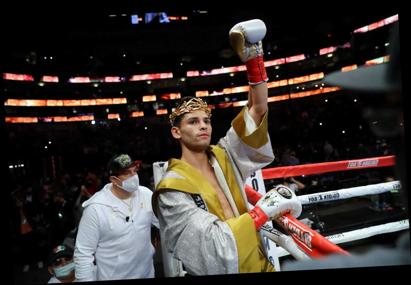 Ryan Garcia, 22, plans to retire from boxing at just 26 to fight in UFC after 'beating everybody as quick as I can'