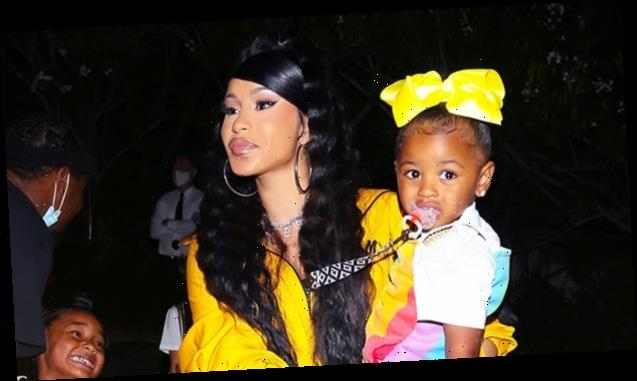 Cardi B's Daughter Kulture Models New $4K Dior Purse & Chanel Earrings — See Adorable Photos