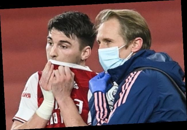 Arsenal star Kieran Tierney ruled out for up to six weeks with knee ligament damage in huge injury blow to Arteta
