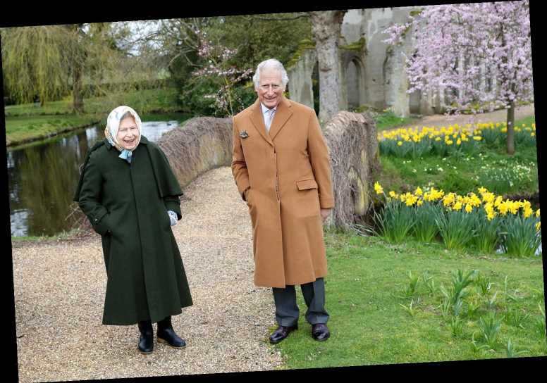 Queen Elizabeth and Prince Charles 'Mark the Easter Weekend' with Walk on Frogmore House Grounds