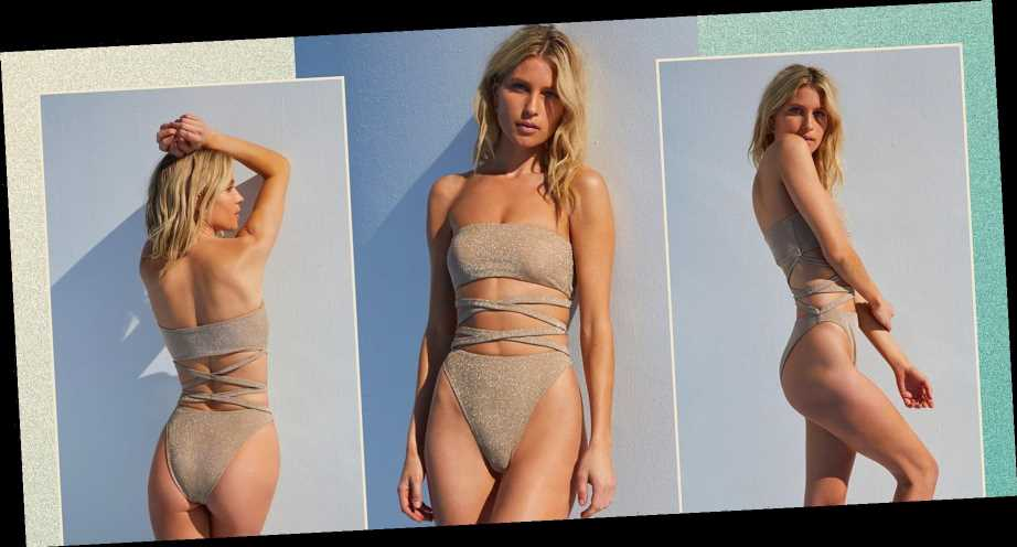 Summer's Hottest Swimsuit Trend Looks Fancy and Expensive – But It's Not