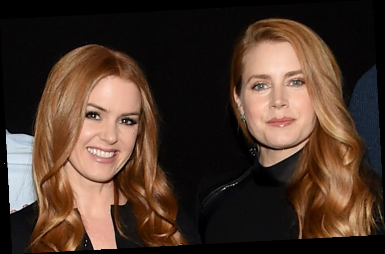 Isla Fisher Hasn't Been Mistaken for Celeb Lookalike Amy Adams in a While!